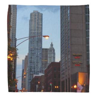 Chicago-Straßen-Szene Halstuch