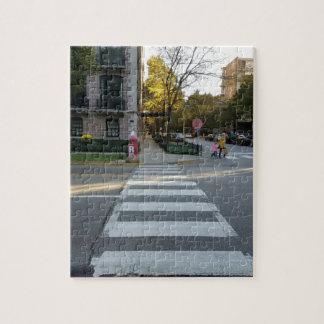 Chicago-Straßezebra-Überfahrt Puzzle