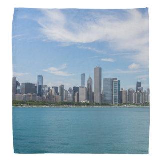 Chicago-TagesStadtbild Halstuch