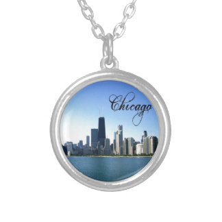 Chicago Versilberte Kette
