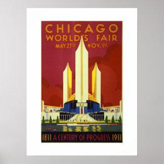Chicago-Weltausstellung-Jahrhundert von Poster