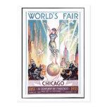Chicago-Weltausstellung-Postkarte 1933