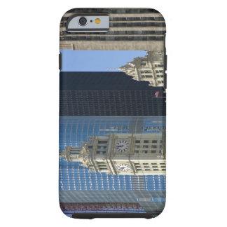 Chicago, Wrigley-Gebäude mit Trumpf-Hotel u. Tough iPhone 6 Hülle