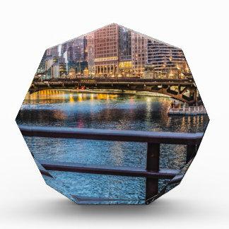 Chicagobrücken u. -lichter auszeichnung