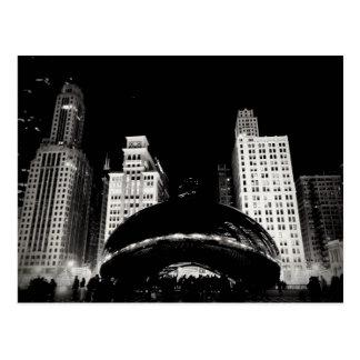 Chicagos Bohne Postkarte