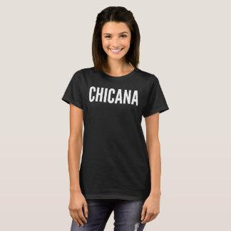Chicana Text-Typografie-T - Shirt