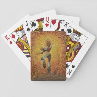 Chicemeca Feuertänzer - fantastische Mexiko-Karten Spielkarten