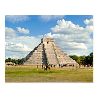 Chichén Itzá Postkarte
