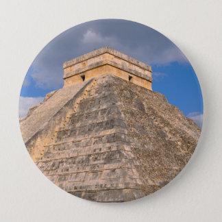 Chichen Itza Ruinen in Mexiko Runder Button 10,2 Cm