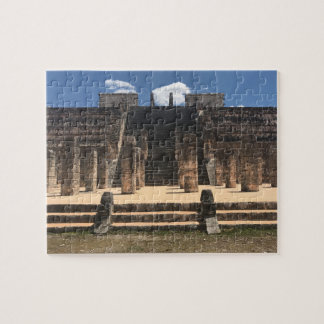 Chichen Itza Tempel des Puzzlen Warrior#2 Puzzle