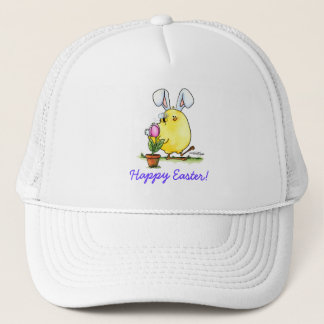 chick-bee-bunny-skybg12x12-easter-cp truckerkappe