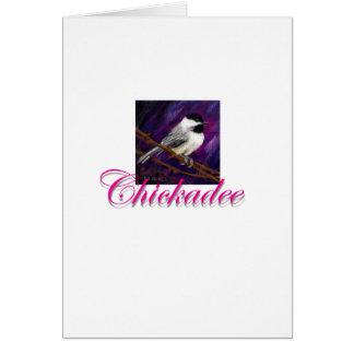 Chickadee-Entwurf Karte