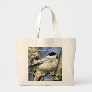 Chickadee-Taschen-Tasche Jumbo Stoffbeutel