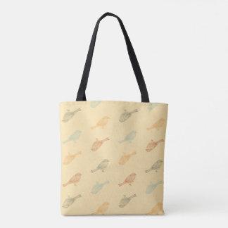 Chickadee-warme Muster-Tasche Tasche