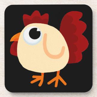 Chicken Little Getränkeuntersetzer