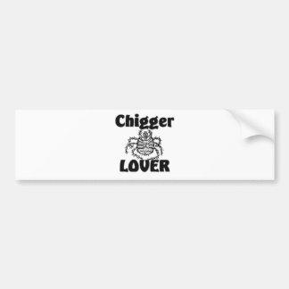 Chigger-Liebhaber Autoaufkleber