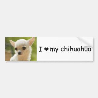 Chihuahua-Autoaufkleber Autoaufkleber
