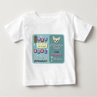 Chihuahua-Bowling Tiki Nacht Baby T-shirt