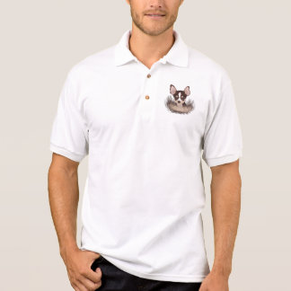 Chihuahua-Cartoon Polo Shirt