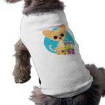 Chihuahua Chanukka Ärmelfreies Hunde-Shirt