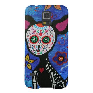 Chihuahua Dia de Los Muertos Galaxy S5 Hülle