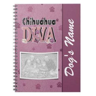 Chihuahua DIVA Notizblock