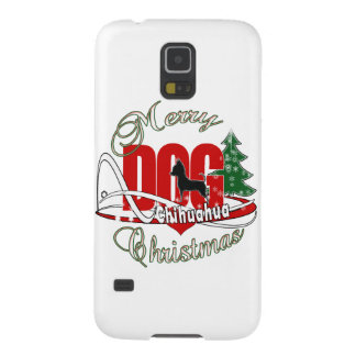Chihuahua-frohe Weihnachten Samsung S5 Cover