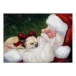 """""""Chihuahua-gemütliches Weihnachts"""" Hundekunst-Gruß Grußkarte"""