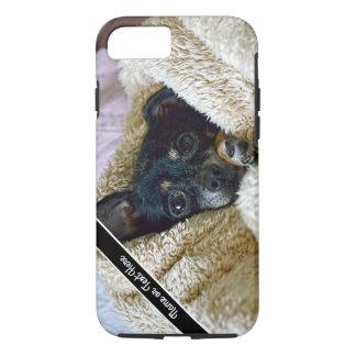 Chihuahua-Hundedeckesnuggle-Foto-Telefon-Kasten iPhone 8/7 Hülle
