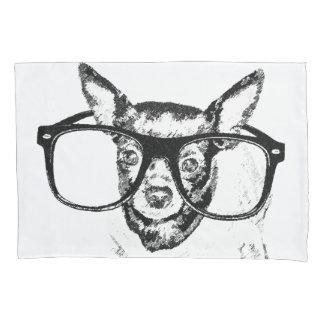 Chihuahua-Hundeillustrations-Zeichnen Kissen Bezug