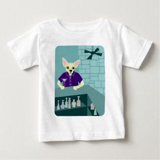 Chihuahua-Hundemartini-Bar Baby T-shirt