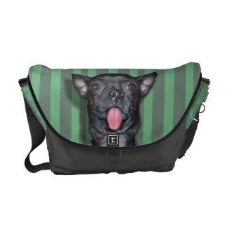 Chihuahua-Hundezunge Kurier Taschen