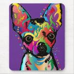 Chihuahua-Kunst Mauspad