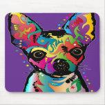 Chihuahua-Kunst Mousepads