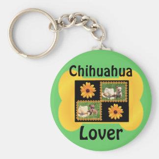 Chihuahua-Liebhaber-Freude Schlüsselanhänger