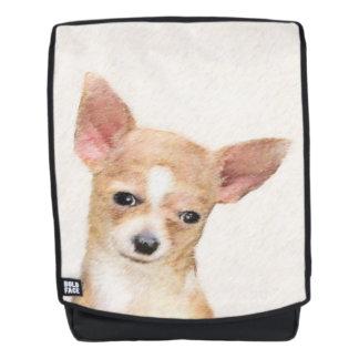 Chihuahua-Malerei - niedliche ursprüngliche Rucksack