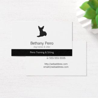 Chihuahua-Schoßhund Visitenkarte