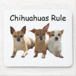 Chihuahua-Trio Mousepad