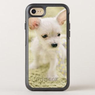 Chihuahua und maltesischer Welpe OtterBox Symmetry iPhone 8/7 Hülle