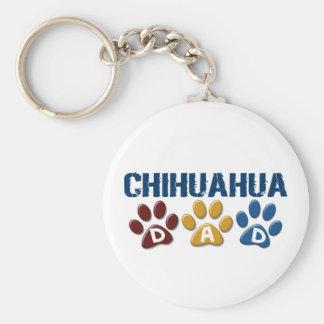 CHIHUAHUA Vati-Tatzen-Druck 1 Schlüsselanhänger