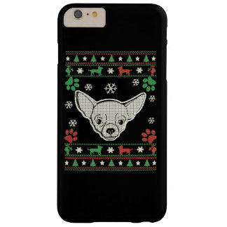 Chihuahua-Weihnachten Barely There iPhone 6 Plus Hülle