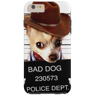 Chihuahuacowboy - Sheriffhund Tough iPhone 6 Plus Hülle