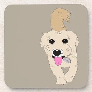 Chiko der niedliche Hund Getränkeuntersetzer