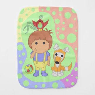 Child and animals spucktuch