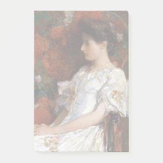 Childe Hassam der viktorianische Stuhl Post-it Klebezettel