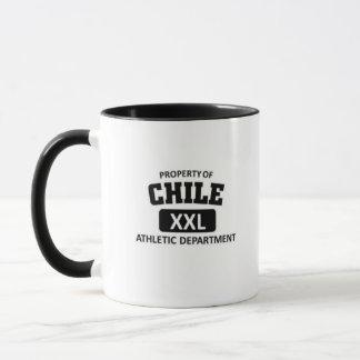 Chile-athletische Abteilung Tasse