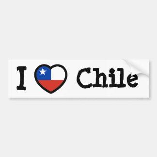 Chile-Flagge Autoaufkleber