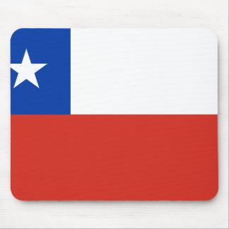 Chile-Flagge Mousepad