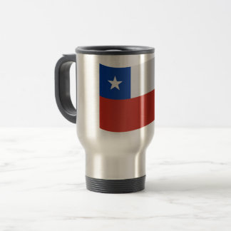 Chile-Flagge Reisebecher