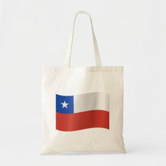 Chile-Flagge Tragetasche